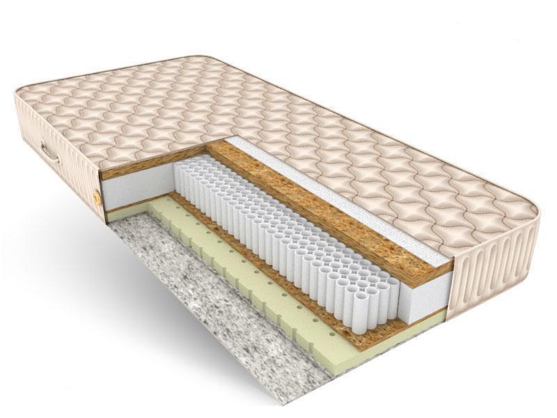 Матрас для кровати на основе независимого пружинного блока