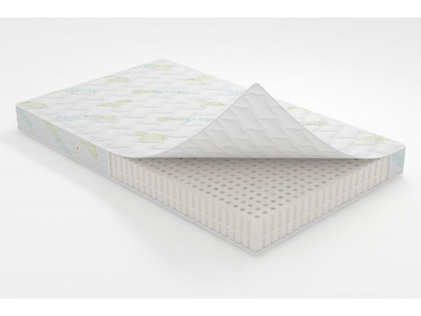 Беспружинный матрас для кровати с наполнителем из латекса