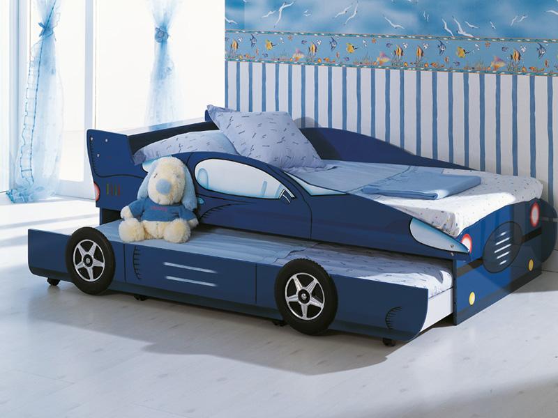 Двухместная выкатная кровать-машина