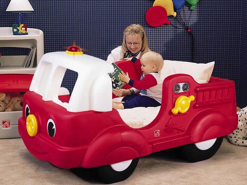 Кровать-машина для самых маленьких