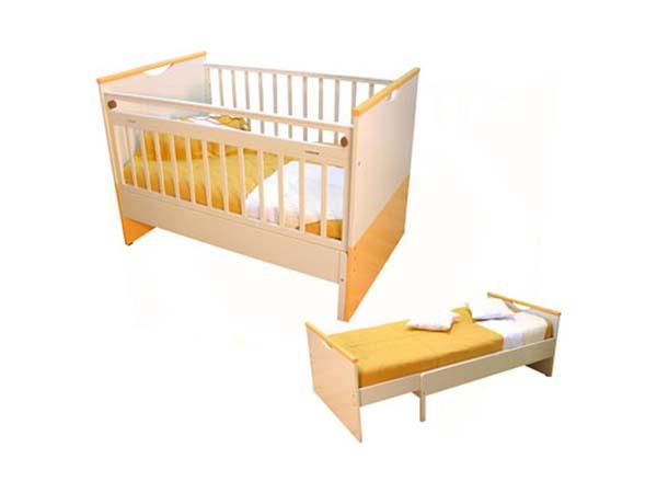 Так раскладывается кроватка-трансформер