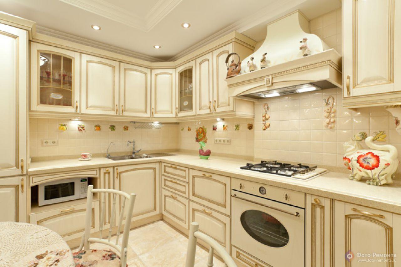 Дизайн кухни в прованс стиле