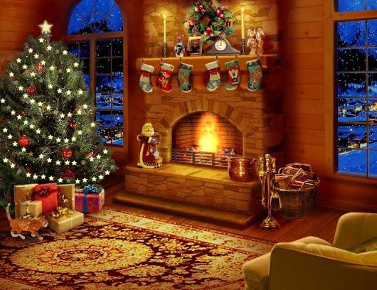 Украсить дом на рождество своими руками
