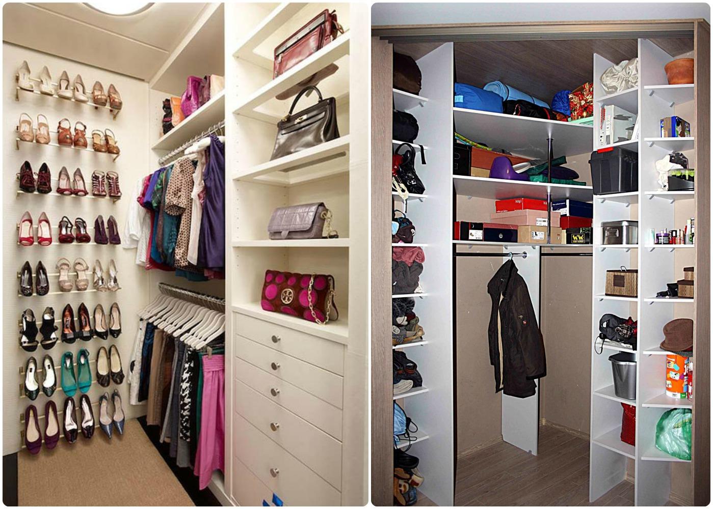 Где найти место, в гардеробную комнату в небольшой квартире .