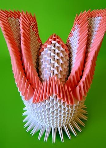 Двойной лебедь оригами схема фото 887