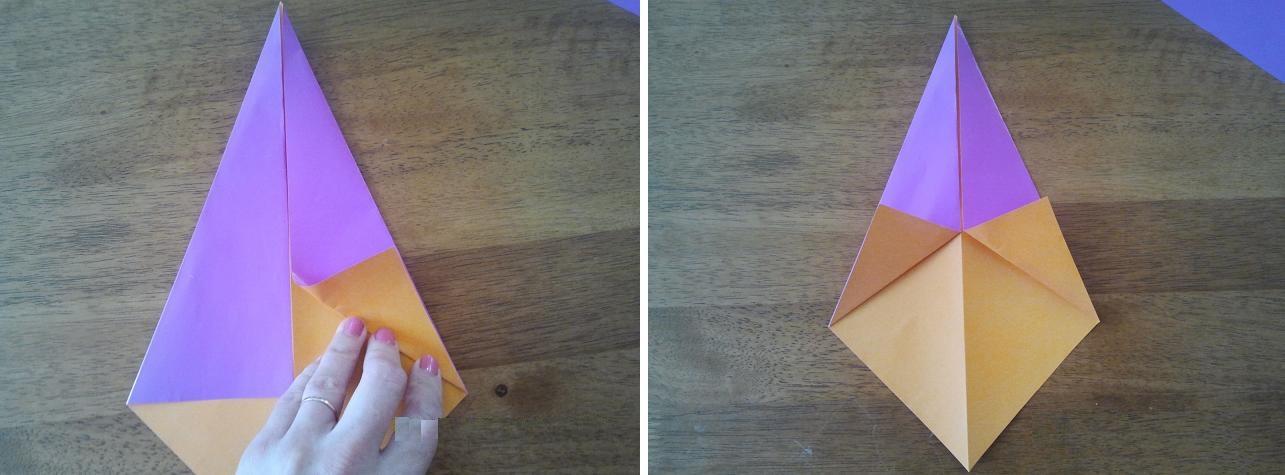 Как правильно сделал из бумаги или сделал с бумаги