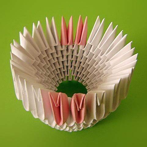 Двойной лебедь оригами схема фото 551