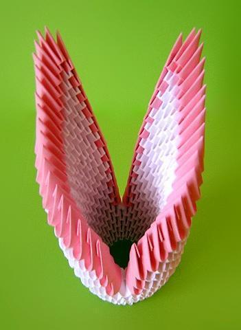 Двойной лебедь оригами схема фото 919
