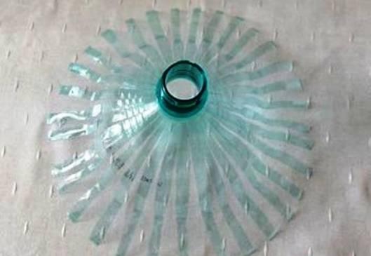 Люстры из пластиковых бутылок как сделать