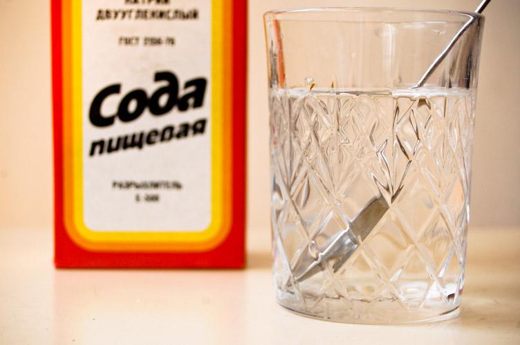 сода питьевая