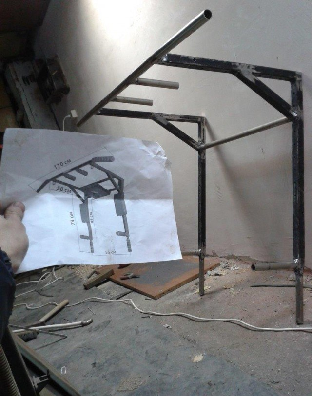 Турник на стену в квартире своими руками Бумага в рулонах для плоттера hp и рулон для