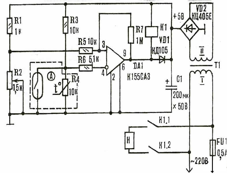 Схема индукционной плиты своими руками фото 331