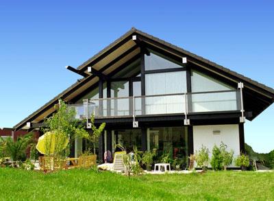 Фахверковый дом — комфортное жилье для всей семьи