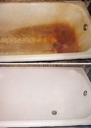 Ванны. Реставрация ванн