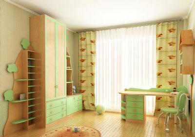 Сделаем детскую комнату уютной и комфортной