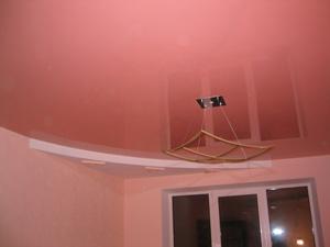 Сварные и бесшовные натяжные потолки