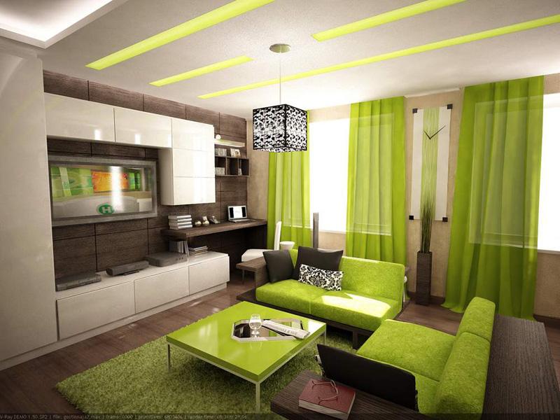 Фотографии интерьеров зала в квартире