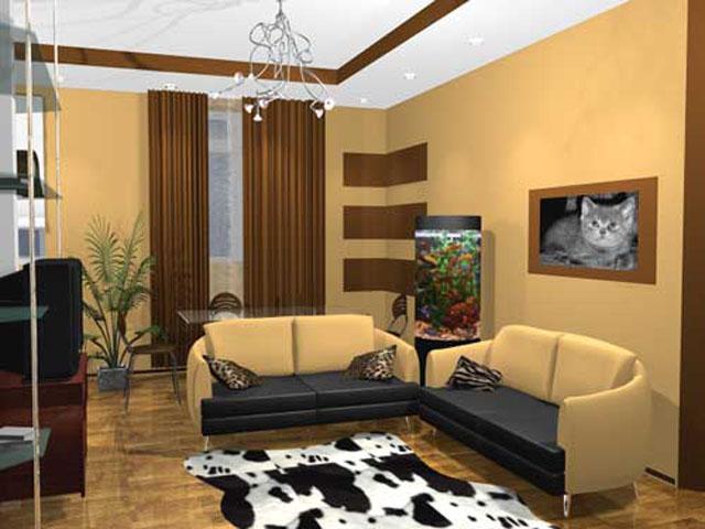 Ремонт зала в квартире