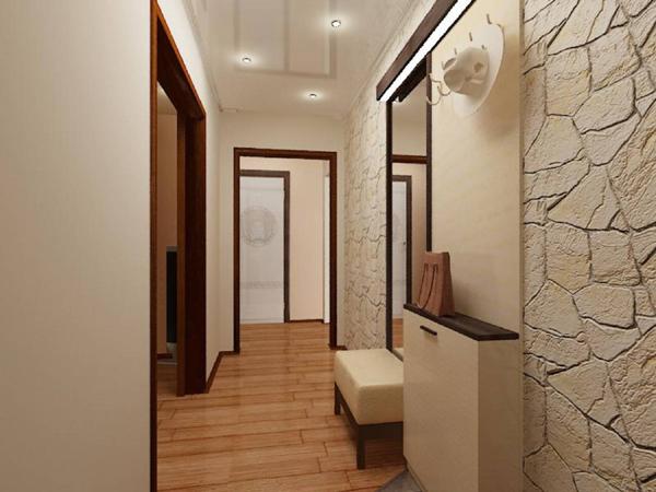 Дизайн ремонт коридора в квартире фото