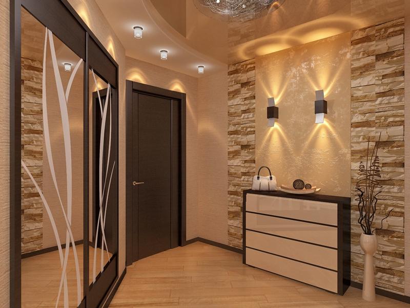 Двери в интерьер коридора в квартире фото