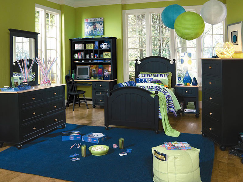 Дизайн интерьера комнаты для мальчика-подростка