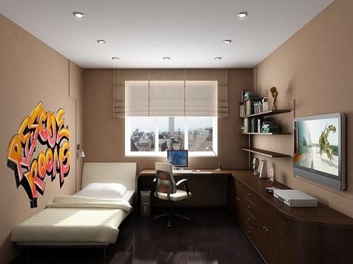 Интерьер комнаты для мальчика