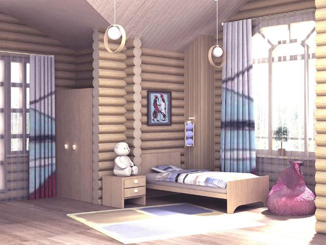 Интерьер дома внутри