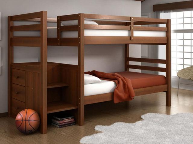 Двухъярусные подростковые кровати фото