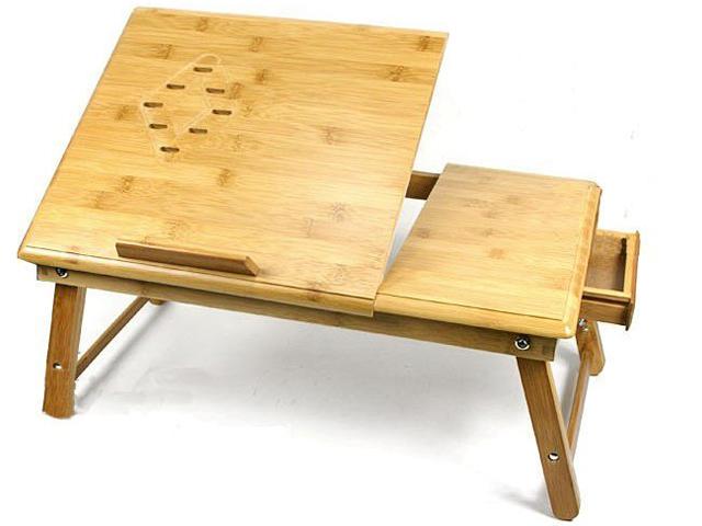Столик для завтрака и ноутбука