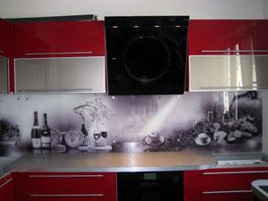 Как сделать фартук на кухне