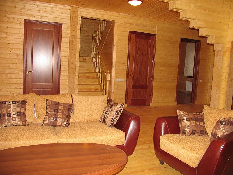Дизайн для домов из сруба