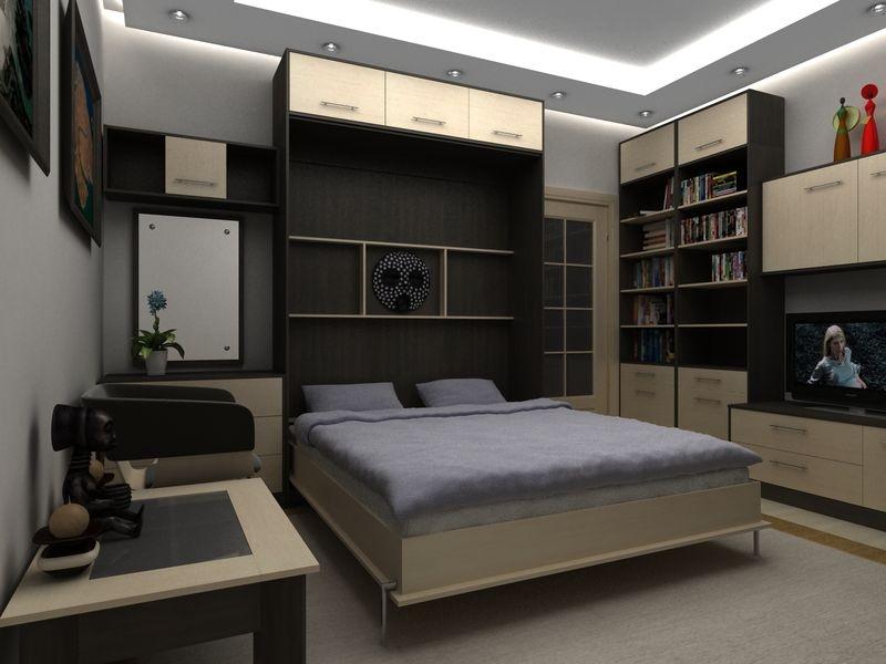 Фото шкафа-кровати