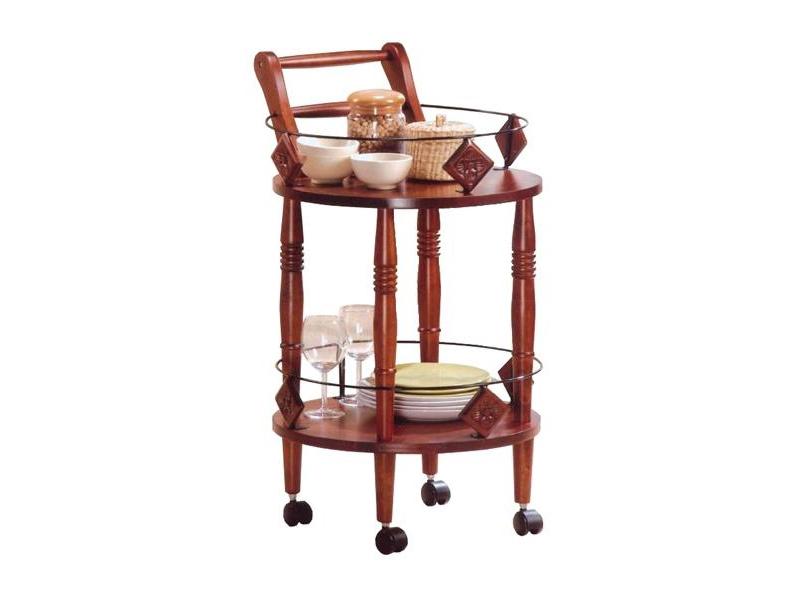 Круглый сервировочный столик