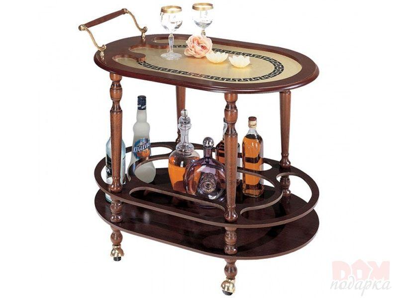 Овальный сервировочный столик
