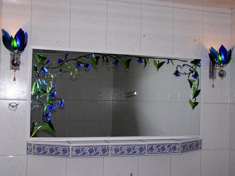 Декор для ванной своими руками с фото