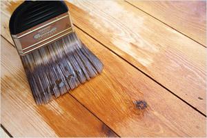 Покраска пола. Как покрасить деревянный пол своими руками?
