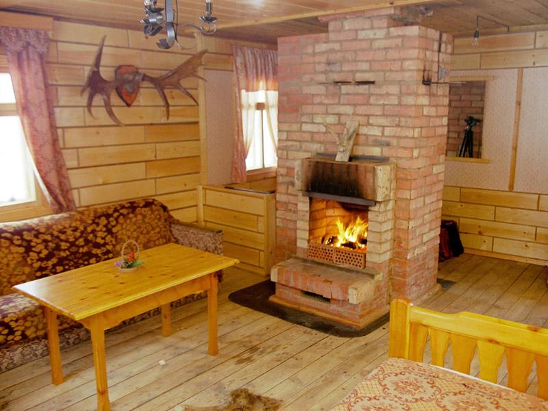 Интерьер дачи в деревянном доме своими руками