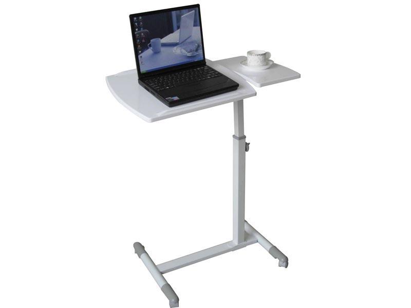 Компактный столик белого цвета