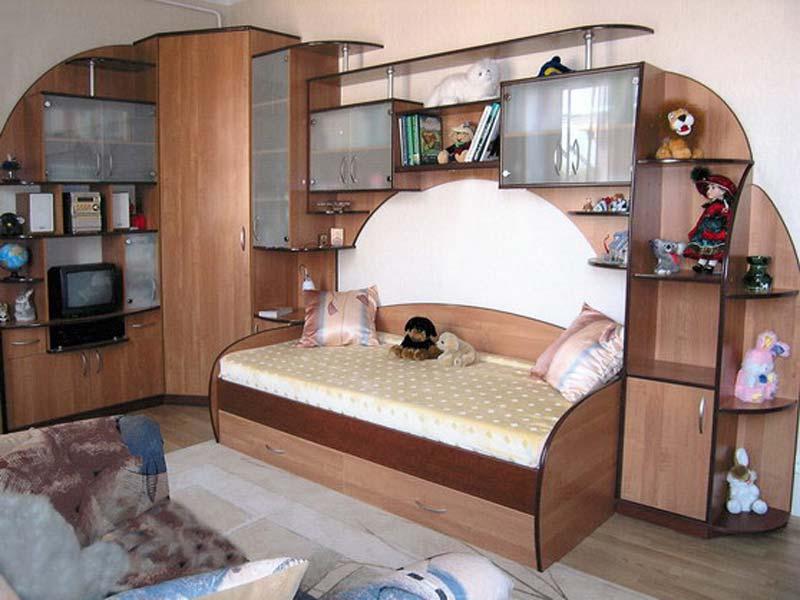Детское место в комнате