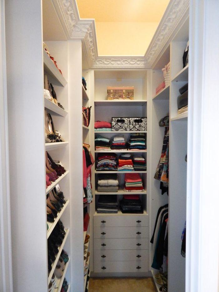 Дизайн малогабаритной гардеробной