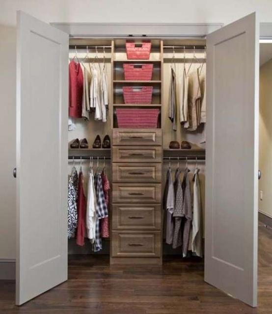 Планировка гардероба в типовой квартире