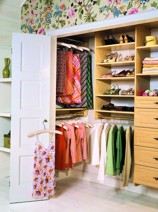 Дизайн гардеробной в хрущёвке