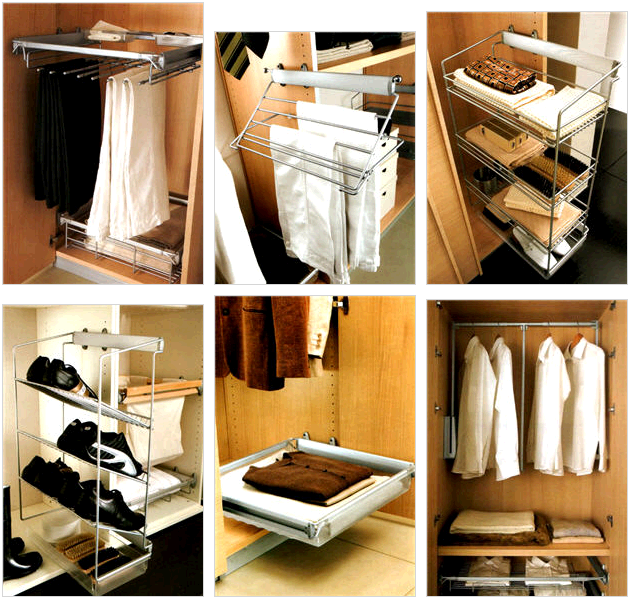 Мебель и аксессуары для гардеробной