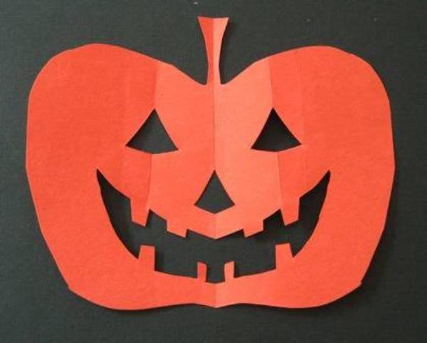Как сделать маску на хэллоуин тыкву - New-trailer.ru