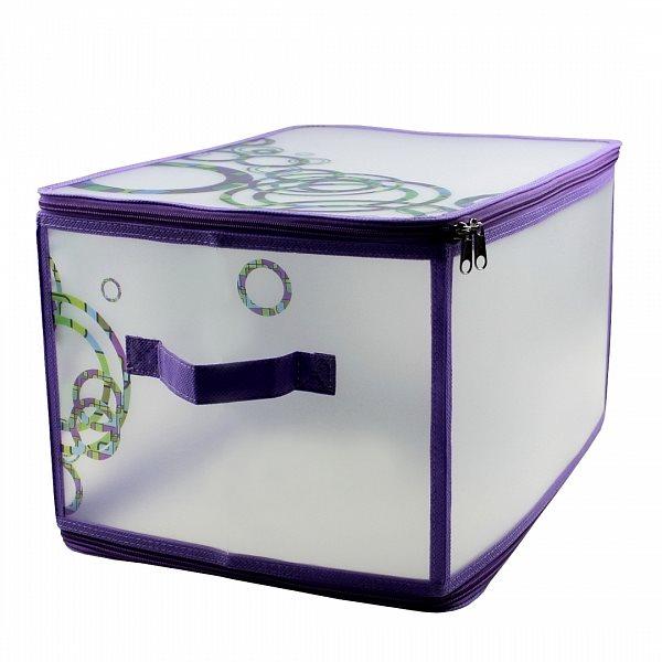 Складная коробка для вещей на молнии