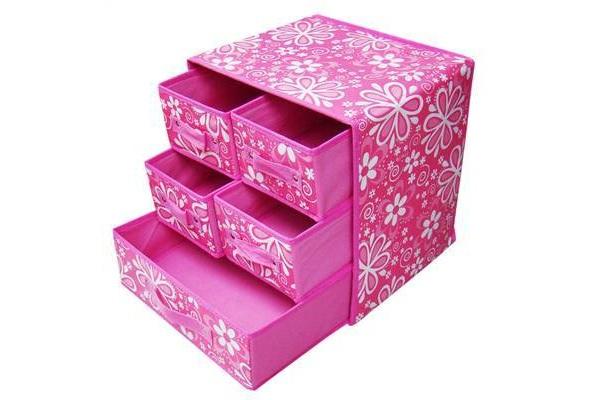 Декоративный ящик для хранения небольших вещей
