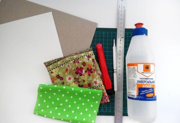 Необходимые материалы для создания коробки из картона