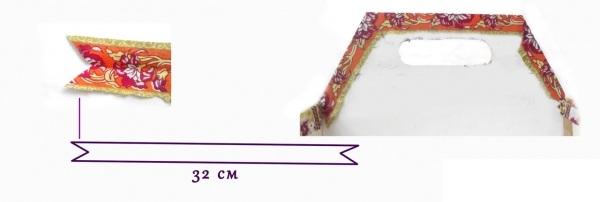 Мастер-класс по создания коробки из картона с двумя отделами. Шаг 17