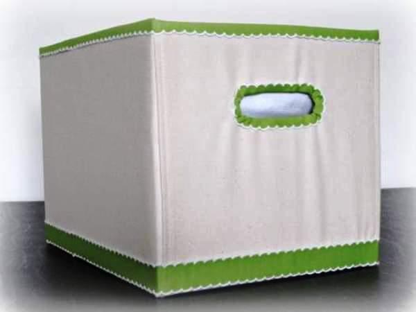 Готовая коробка для хранения белья и других вещей