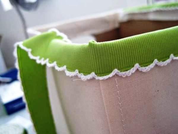 Мастер-класс по созданию картонной коробки для белья. Шаг 22